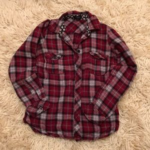 Forever 21 flannel button down